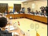 Reunión de Valeriano Gómez con las Comunidades Autónomas