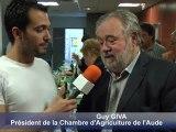 Les producteurs de fromage audois récompensés au concours de fromages fermiers de l'Aude, dans le cadre de la foire Promaude 2011 :