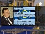 BCE : le Conseil européen choisit Draghi