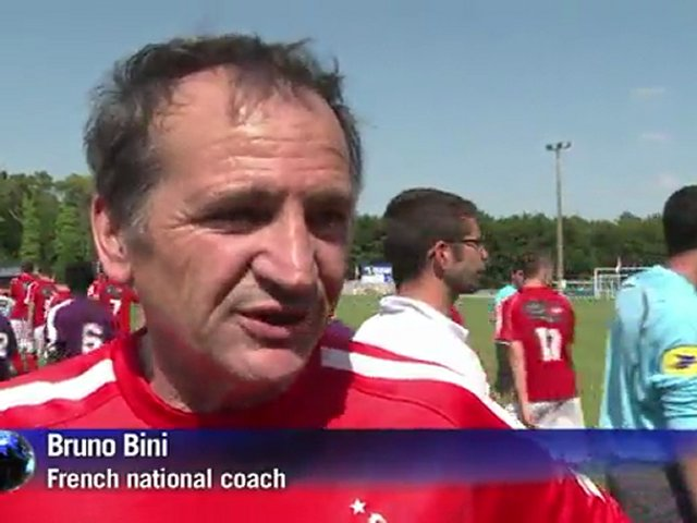 French women's soccer team prepares for World Cup