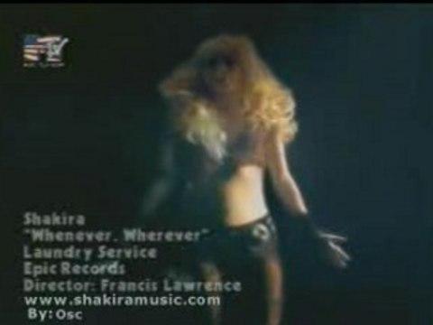 Shakira - Blond Latina Belly Dancer