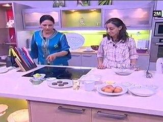Choumicha - recette pour enfant le cake biscuit