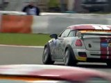 Test laps with the MINI John Cooper Works Coupé Endurance - driving at Nürburgring Nordschleife