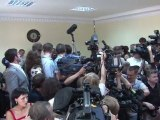 """Ukraine: Ioulia Timochenko dénonce une """"farce judiciaire"""""""
