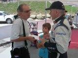 206 WRC du décolletage au Rallye des Bornes 2011