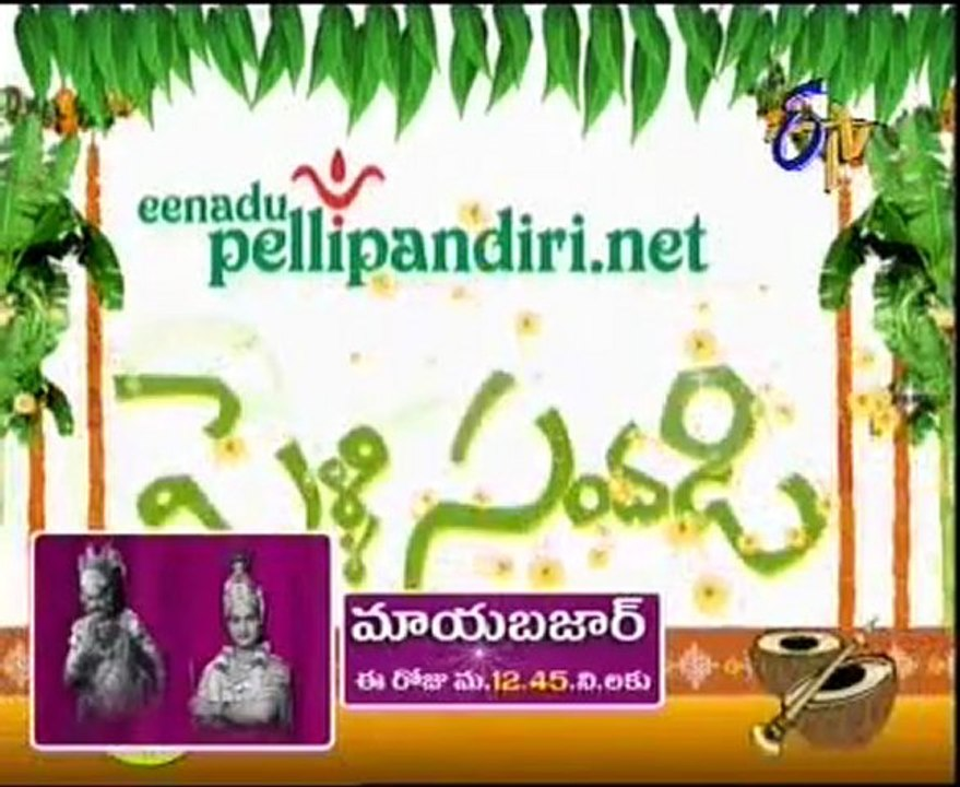 Pelli Sandadi - TV Show - Married Couples Chat Show - 01