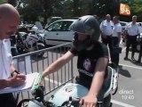 Les gendarmes motards en formation! (Nîmes)