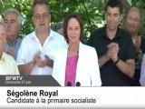 2012 : Ségolène Royal, candidate à la primaire socialiste