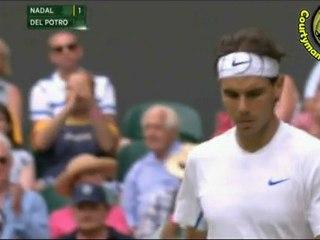 [HD] Rafael Nadal vs Juan Martin Del Potro R4 WIMBLEDON 2011 [Hot Shots by Courtyman]