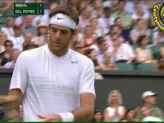 [HD] Rafael Nadal vs Juan Martin Del Potro SET2 SET3 SET4 R4 WIMBLEDON 2011 [Highlighs by Courtyman]