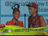 Willow et Jaden Smith remporte le prix des Youngstars Awards