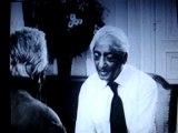 J.Krishnamurti parle en Français, en 1972 à l'ORTF.