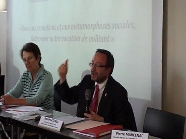 AG 2011 : Intervention d'Andrés Atenza, administrateur de l'Uriopss Ile de France
