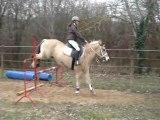 Moi et Royal a 80cm l'hiver 2010