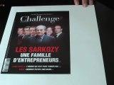 Au sommaire de Challenges jeudi 30 juin : les Sarkozy
