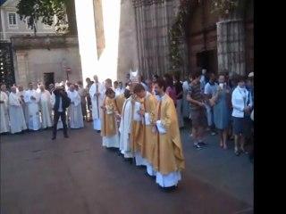 Ordinations à Cahors le 26 juin 2011