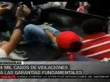 Resistencia hondureña documentó 4 mil violaciones a DDHH