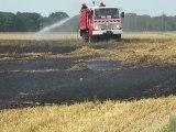 Rémérangles: Une surface agricole de 10 hectares incendiée le lundi 27 juin