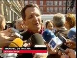 Artistas, políticos y sindicatos apoyan a Garzón