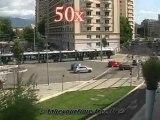 circulation urbaine a Grenoble Chavant timelapse