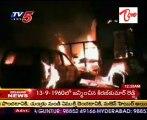 A Major Accident @ Kothakota,Mehaboobnagar dist,2 Vehicles crash Fired