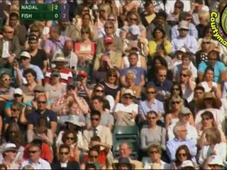 [HD] Rafael Nadal vs Mardy Fish QF WIMBLEDON 2011 [Highlighs by Courtyman]