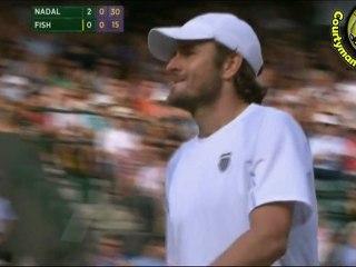 [HD] Rafael Nadal vs Mardy Fish QF WIMBLEDON 2011 [Hot Shots by Courtyman]