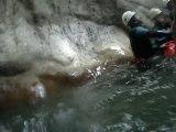 Canyoning Annecy haute savoie guides Monté Médio