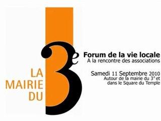 Forum de la vie locale. septembre 2010