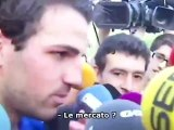 """Fabregas : """"Je suis optimiste"""""""