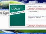 Kaspersky 2012 Activation code + Free Download