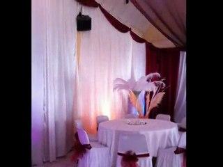 Decoratrice pour salles mariages-Décoratrice mariage