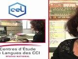 Centre d'étude de Langues de CCI témoignage d'une salariée - 2011