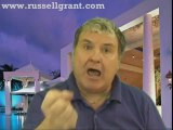 RussellGrant.com Video Horoscope Pisces July Friday 1st