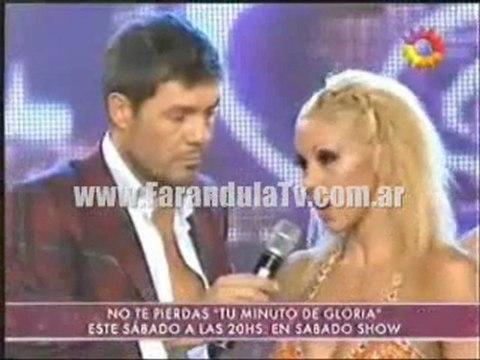 FarandulaTv.com.ar La pelea de Monica Farro y Moria casan y las palabras del padre de Jorge Negrito Luengo