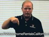 Private Motorhome RV Rentals - RV Rentals In California