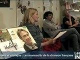 Expo: Paroles et musique de la variété française (Avranches)