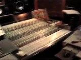 Enregistrement basse/batterie au Studio Marcadet