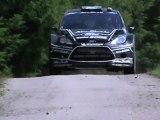 Tests Day FRANCE Ancian / Tanak / Novikov / Scandola FORD Fiesta WRC Black Edition