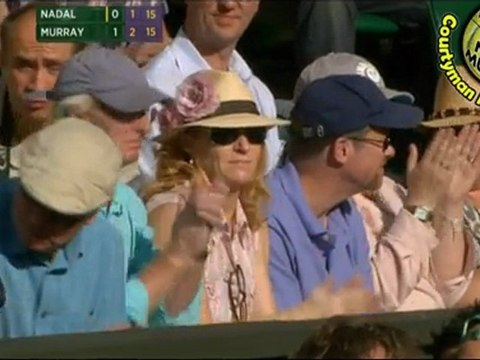 Rafael Nadal vs Andy Murray PART1 SF WIMBLEDON 2011 [Highlights by Courtyman]