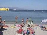 French Riviera beaches