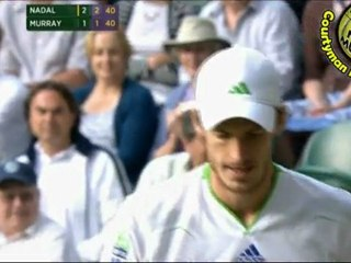Rafael Nadal vs Andy Murray PART2 SF WIMBLEDON 2011 [Highlights by Courtyman]