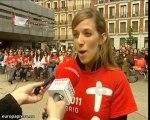 300 madrileños siguen la beatificación de Pablo II