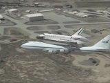 Shuttle Endeavour Flyover of Dryden (Entire Flyover & Landing)