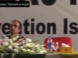 Hamid Khan's speech at Convention of All Pakistan Insaf Lawyers Forum (September 22, 2012)