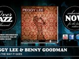 Peggy Lee & Benny Goodman - That's The Way It Goes (1941)