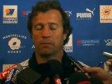 Interviews après Montpellier Hérault Rugby - Toulon : 14/09/2012
