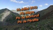 VACANCES 2012 - 15/07 - Pic Nègre + Pic de Monturull + Pic de Perafita