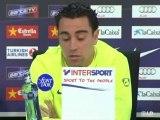 "Xavi: ""Ahora vamos a por la liga"""