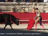 Premier jour de la Feria des Vendanges (Nîmes)